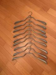 2x Metall-Kleiderbügel 9 Stück mit