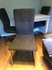 Schwingstühle Stuhl 4x