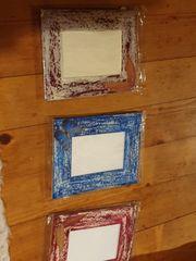 3 Bilderrahmen handmade NEU
