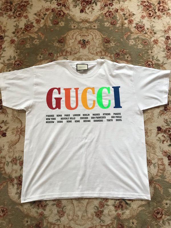 Neues Gucci GG T-Shirt M