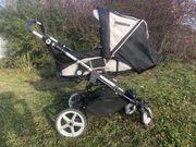 Toller Hartan Kinderwagen mit Hardcase