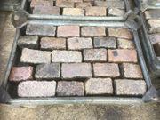 Großpflaster Granit Rinnensteine Bindersteine Pflastersteine