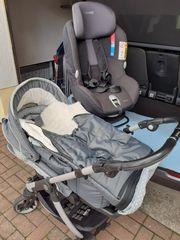 --Kinderwagen---und --Autokindersitz--