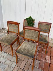 Stühle Biedermeier 4 Stück je