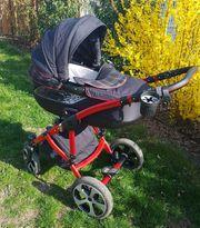 Knorr Kombi-Kinderwagen im GTI Design