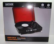 Plattenspieler DENVER VPL-120 USB--NEU