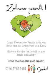 Junge Eberswalder Familie sucht Haus