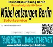 Möbel entsorgen Berlin pauschal 80