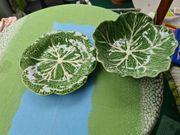 Obstteller Keramik Portugal Bordalo Pinheiro-Set