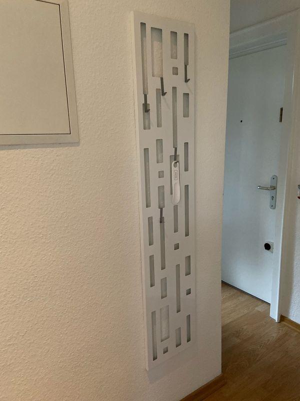 Garderobe Schlicht modern weiß schmaler Flur in Frankfurt ...