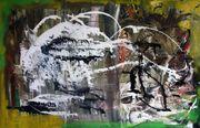 Acryl Gemälde auf Leinwand