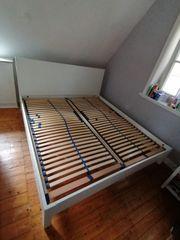 IKEA Nordli Bett weiß