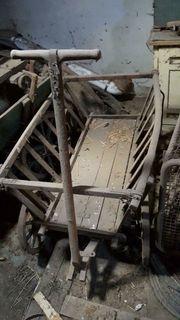 Handwagen Hand Wagen Transport Transportwagen