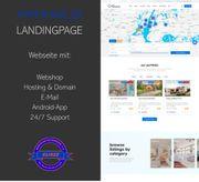 Webseite für Immobilienmakler Hausverwaltungen