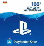 PSN 100EUR Guthabenkarte PS4 Playstation