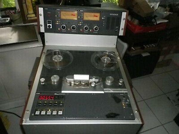 Seltener 4-Gang Studer A810 Kassettenrekorder