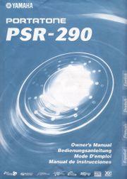 Keyboard Yamaha Portatone PSR-290