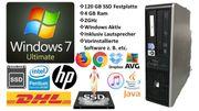 HP Compaq dc5800 120GB SSD
