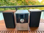 SONY CMT-EH10 Komplett-Stereoanlage