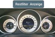 Mercedes Restliteranzeige im Display W204