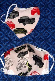 Alltagsmaske Mundschutz Autos Oldtimer