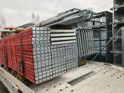 125 qm Gerüst Fassadengerüst Baugerüst