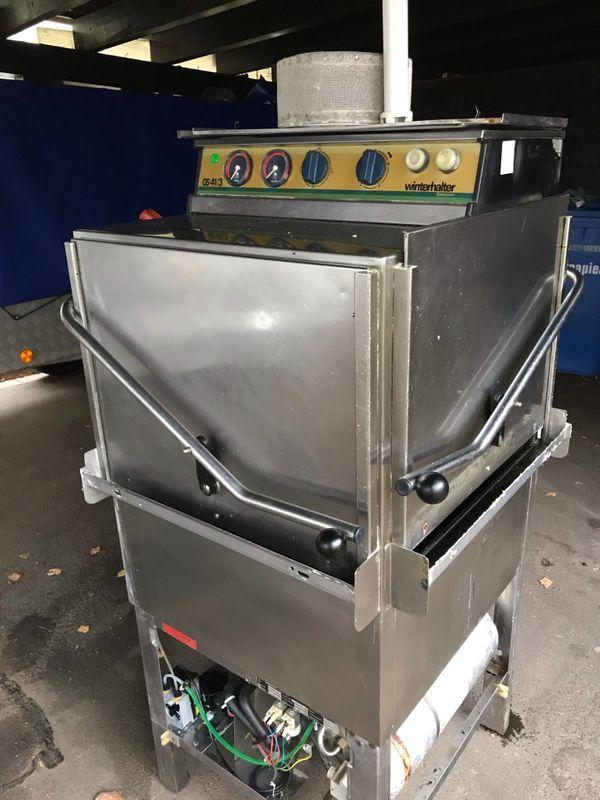 Winterhalter Geschirrspülmaschine Eckmaschine