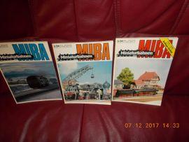 Modelleisenbahnen - MIBA-Miniaturbahnen Band 36 kpl Jahr