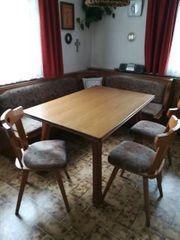 Eckbank Tisch 3 Stühle