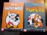 Micky Maus und Popeye aus Bild