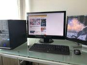 Heim PC mit zwei Monitoren