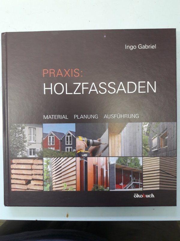 Praxis Holzfassaden Buch