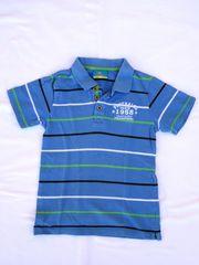 Poloshirt Topolino Gr 122 blau