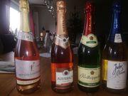 13 Flaschen Sekt und Wein