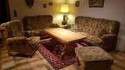 Couchgarnitur Holz massiv Eiche mit