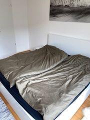 Malm Bett Weiß 180x200