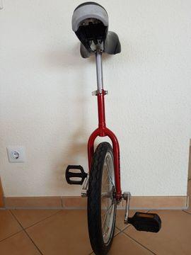Sonstige Fahrräder - Einrad 16 Zoll in Rot