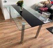 Glastisch 160 x 90 cm