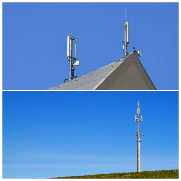 Grundstück Dachfläche für Antenneninstallation zur
