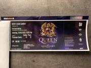 1 Queen Adam Lambert Ticket