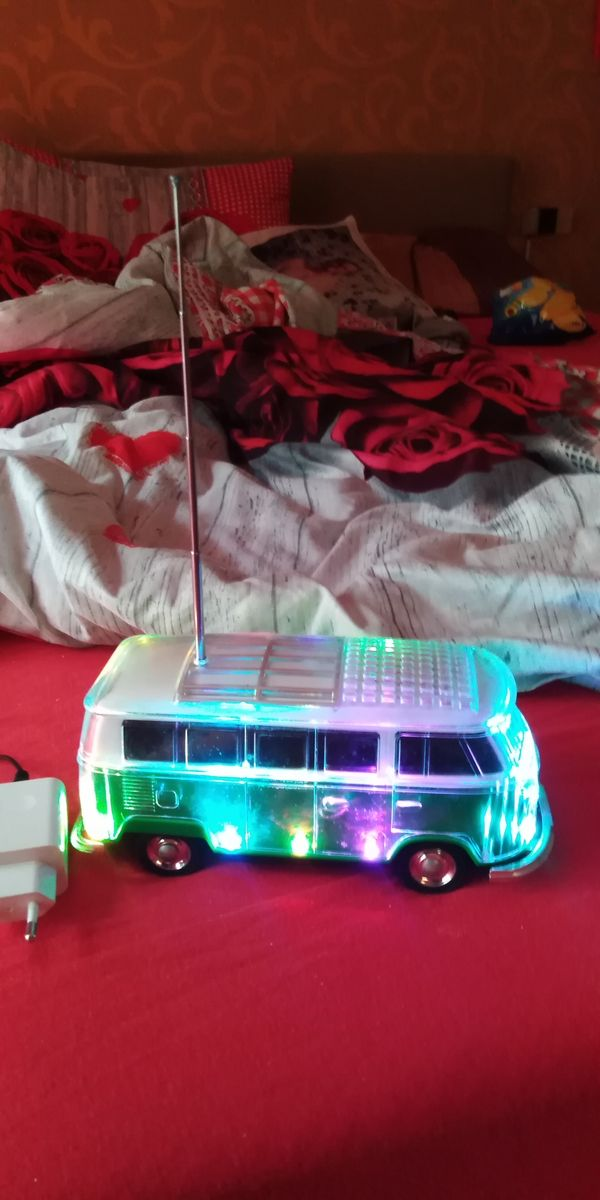 Musik led partybus mit USB, sd und Radio