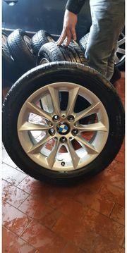 Original BMW Alufelgen mit Sommerreifen