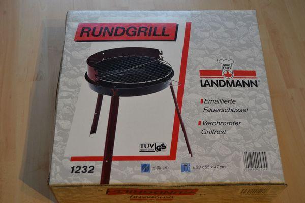 Landmann Holzkohlegrill Balkon : Verkaufe landmann rundgrill durchmesser 35 cm emaillierte
