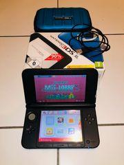 Nintendo 3DS XL blau mit