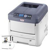 OKI LED Farb- und Weißdrucker