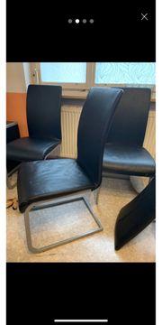 Stühle schwarz