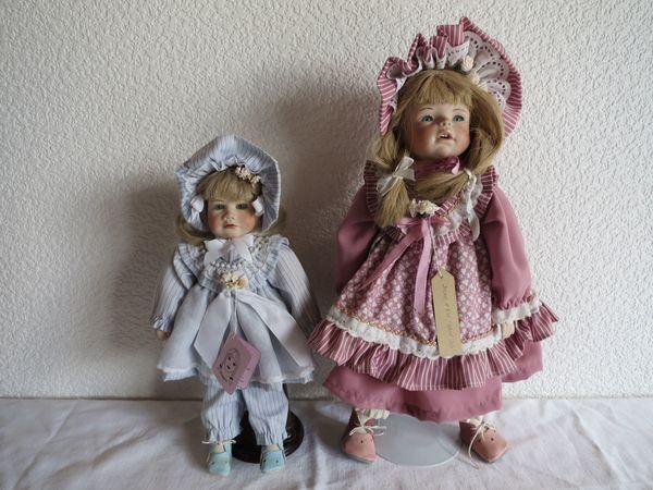 2 Puppen von Christa Lange