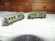 2 Märklin Personenwagen 2 KL