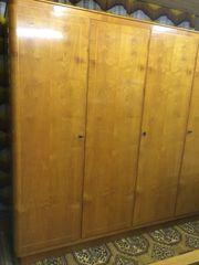 Kleiderschrank 2 Nachttische - Kirschholz