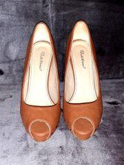 Peeptoe High Heels 38 Retro